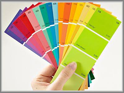 banyak orang yang akhinya menjatuhkan pilihannya pada warna warna