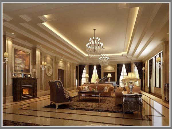 Ruang Keluarga Klasik - Edupaint